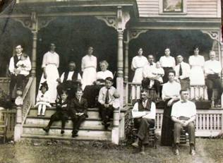 Photograph of early Prussian Settlers - Circa 1843